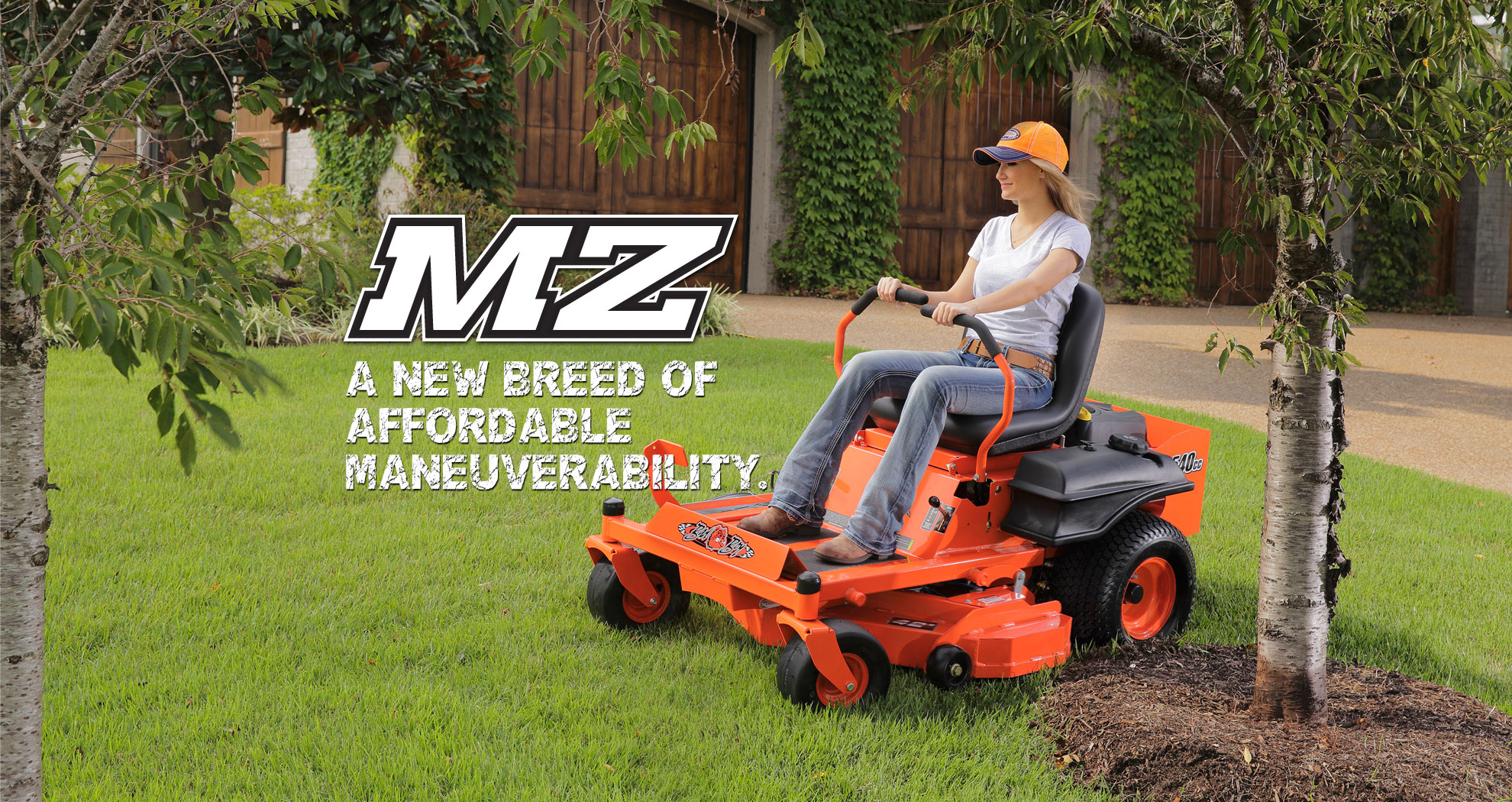 Riding Lawn Mowers Zero Turn Mowers Orient Oh B B Industries